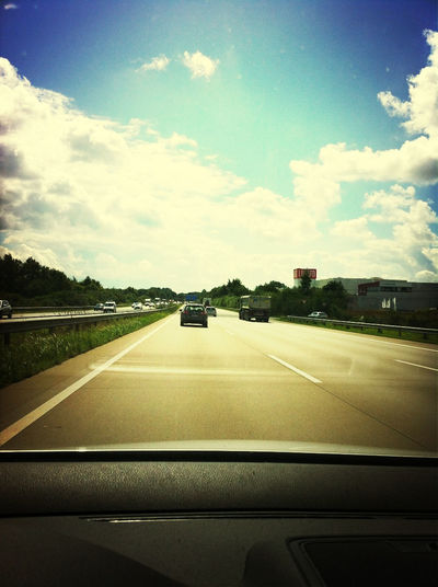 Driving Back Home
