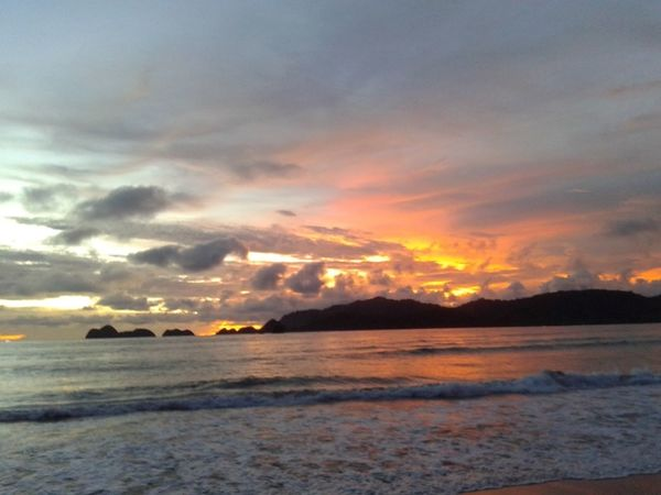 Sunset_collection Beauty In Nature Sky Sea No People Nature Outdoors SeaWater🌊 Tourism Beach Travel