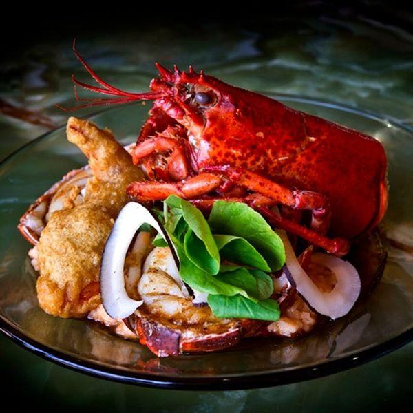 Food Porn Awards Gourmet Entree Meal Seafoods Lobsters