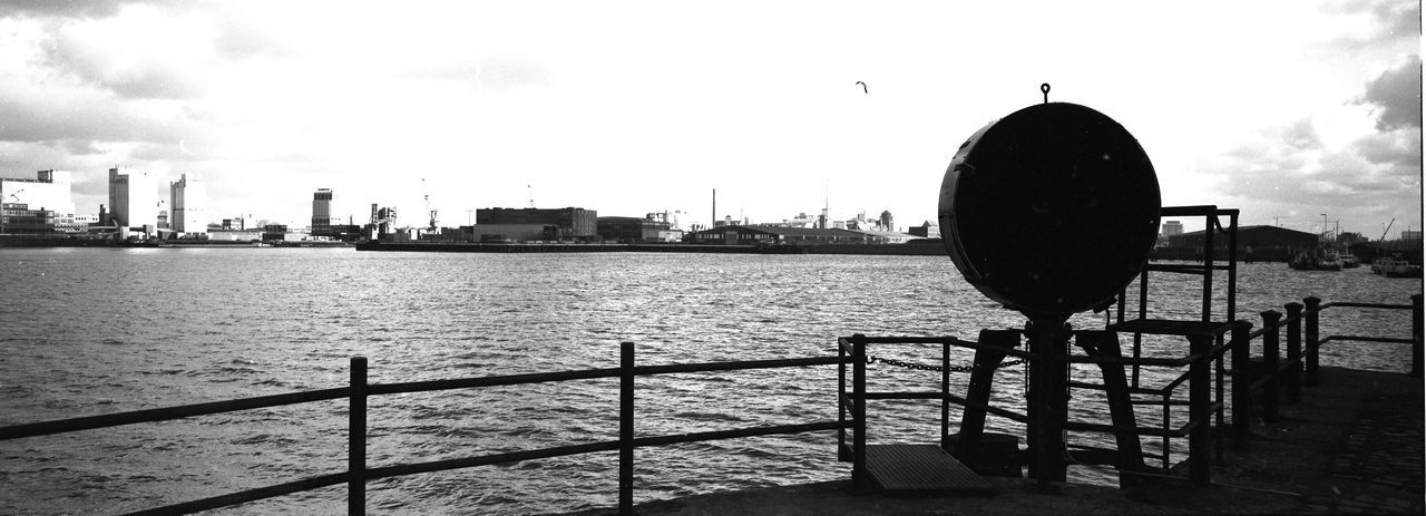 B&w Black And White Film Photography Freighter Harbor Harbour Panorama Pier Port Quayside Sea
