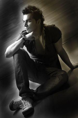 Model Blackandwhite Portrait