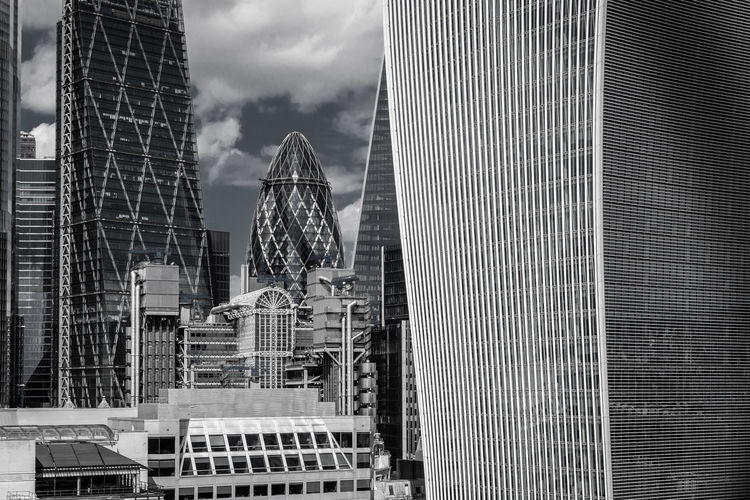 Built Structure Building Exterior Architecture Modern City Office Building Exterior Office Building Cloud - Sky Sky Tall - High Skyscraper Glass - Material Day No People Nature Tower Travel Destinations Outdoors Financial District  Cityscape Gherkin The Gherkin Office The City London Architecture Modern Architecture City Capital Reflection My Best Photo