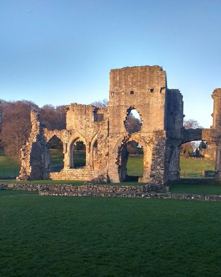 Architecture Old Ruin Medieval Grass No People Outdoors Day History The Past Ancient Built Structure Castle Building Exterior Travel Destinations Ancient Civilization War Fort Cultures Richmond Richmondshire North Yorkshire Yorkshire