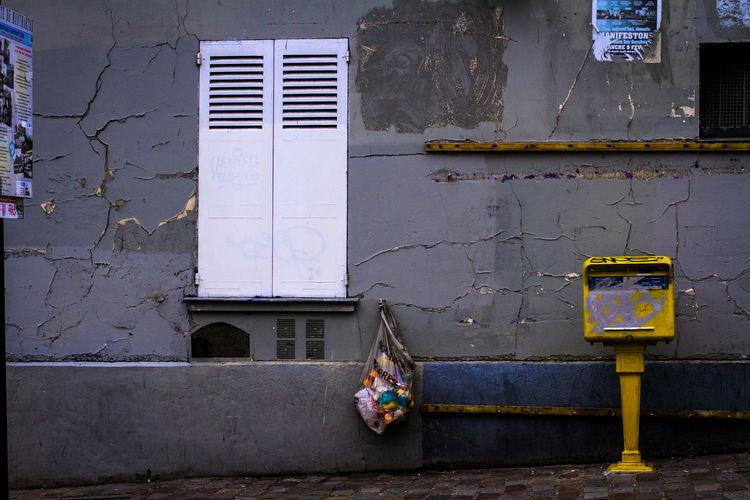 Obsolete building in france