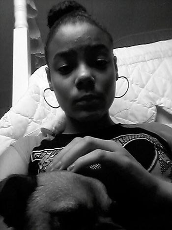 Me and the pup I Love My Dog