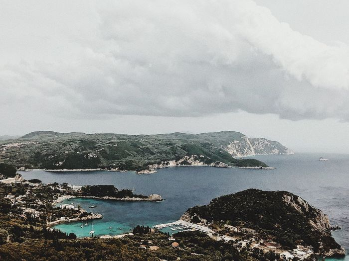 Heart Greece Water Sea Sky Nature Land Cloud - Sky Beauty In Nature No People Day Rock Rock - Object Beach Tranquil Scene Scenics - Nature Tranquility Outdoors Solid Idyllic Aerial View