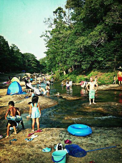JAGUI river.everyone smile:) Riverside Smile Summer