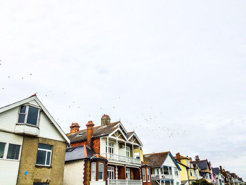 📍England Architecture Houses Sky England
