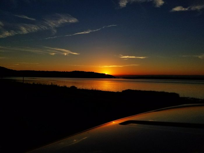Sunset Scenics Landscape Travel Destinations Sea No People Nature Beauty In Nature Water Outdoors Tranquility Horizon Over Water Sky Beach Night Vacations Astrology Sign Rural Scene Astronomy Tourism Lost In The Landscape Dramatic Sky Beautiful Cold Drive Home