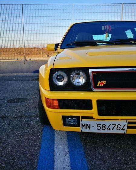 Un mito, una leggenda! Car Lancia Delta Lancia Delta Un Mito Una Leggenda Autodromo Di Franciacorta Leggend Leggenda HF Yellow Giallo