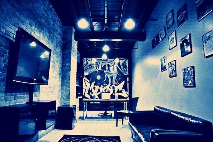 The Lobby of my Music Studio SittinOnMusic #nyc #Brooklyn