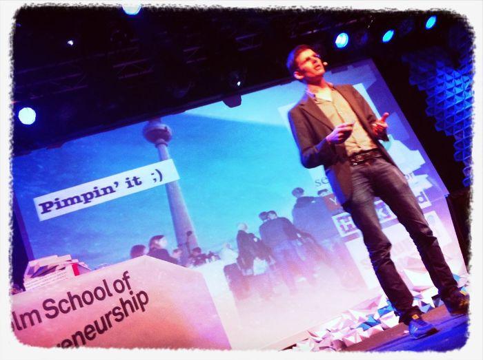Pimpin' It At #sud12 @nikolaj Looking For Startups W/ Pulse & Teams W/ Talent Magnet.