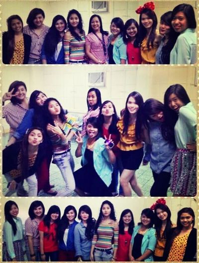 "12.21.12 Party with my oh-so-beautiful girlfriends! :"">"