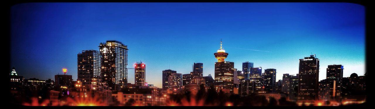 Pano VanCity Vancouver Ilovethiscity Cityscape