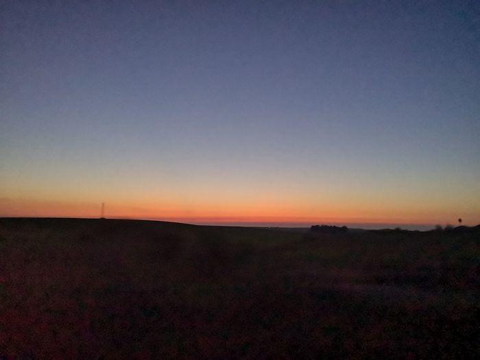 Morón De La Frontera Atardecer On Sale 17.62° Astronomy Space Sunset Rural Scene Horizon Moon Silhouette Dusk Field Horizon Over Land Romantic Sky Dramatic Sky Moody Sky Sky Only