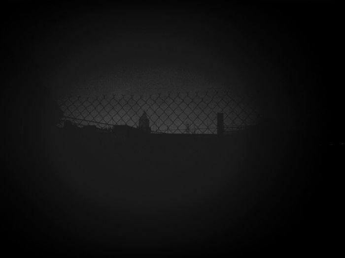 dark rain night...