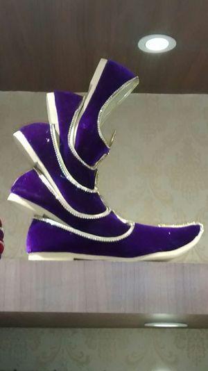Nagra Nawaboflucknow Nawab Shoes Blue Purple