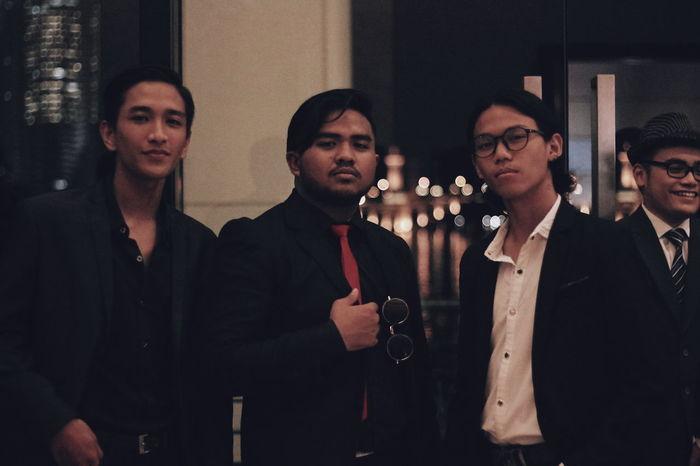 Men SmartCasual Galanight Red Everly Hotel PromNight Group Gentle Gentlemen