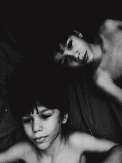 Boys Twins Brothers Children Kids Portrait NEM Black&white Blackandwhite RePicture Motherhood