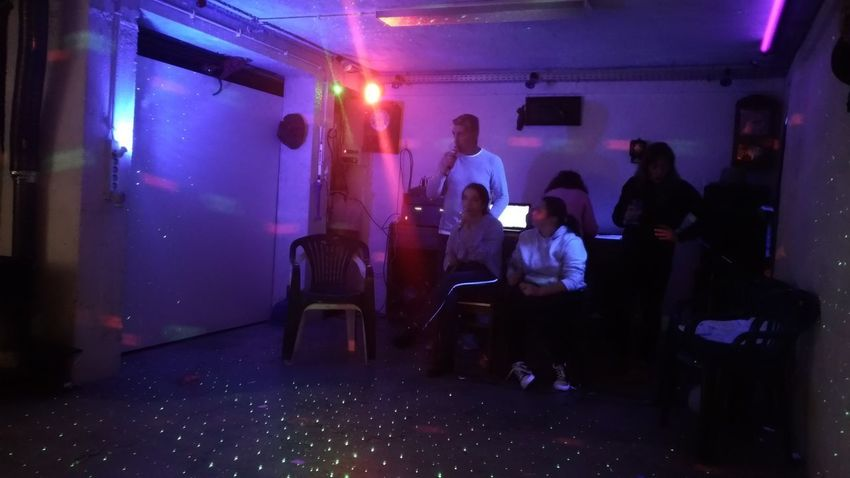 Performance Group Nightclub Dj Nightlife Happy Hour Party - Social Event Sitting Clubbing Performance Musician