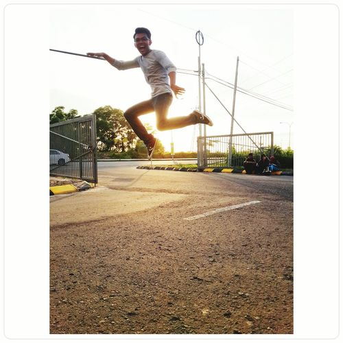 Because I'm Happy Jumping Sunset Happyday
