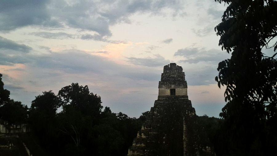 Mexico Tikal Peten Ruins Ruinas Mayan Ruins Hola! Hello World Merhaba Sunset Historical Architecture In Nature Jungle Jungle Shoot No People Outdoors