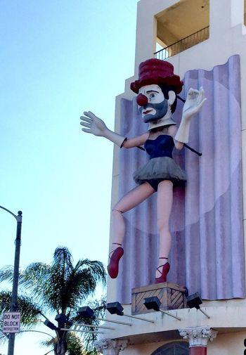 The Bearded Clown, Architecture Creativity Clown, Sculpture Man Street Art Smiles Art