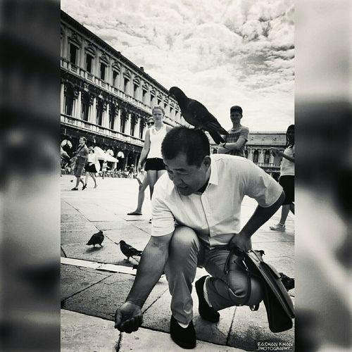 Venice, Italy Piazzasanmarco Eye4photography  EyeEm Best Shots - Black + White Funnyscene