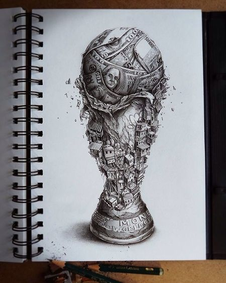 Mundialbrasil2014 by PEZ to thin about it! Thinking What Eye See