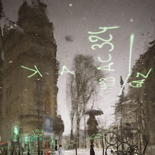 City Life Rain Reflection City Rainny Streetphotography Umbrella