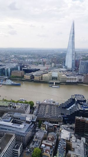 Cityscape Architecture City Urban Skyline Ferris Wheel Skyscraper Tower Travel Destinations Building Exterior Cloud - Sky Bridge - Man Made Structure Aerial View Built Structure Water Modern Outdoors Sky No People Day England, UK London Sky Garden England 🌹 The Shard, London The Shard