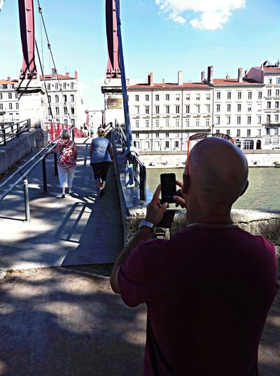 Tourist in Lyon