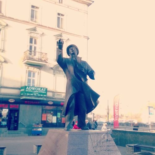 Monument Sosnowiec Jan Kiepura