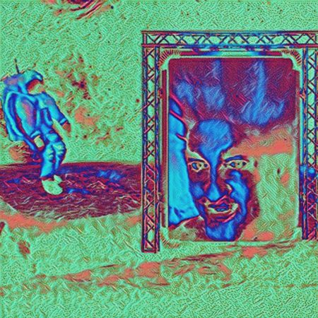 First Contact Multi Colored Space Backgrounds Day Painted Image Space Exploration SpaceShip Spaceman Alien First Contact Portland Oregon Martian  Scifi Science Fiction Abstract Abstract Photography Sky Artistic Photography Lost In The Landscape Artistic Photo Outdoors Beauty In Nature