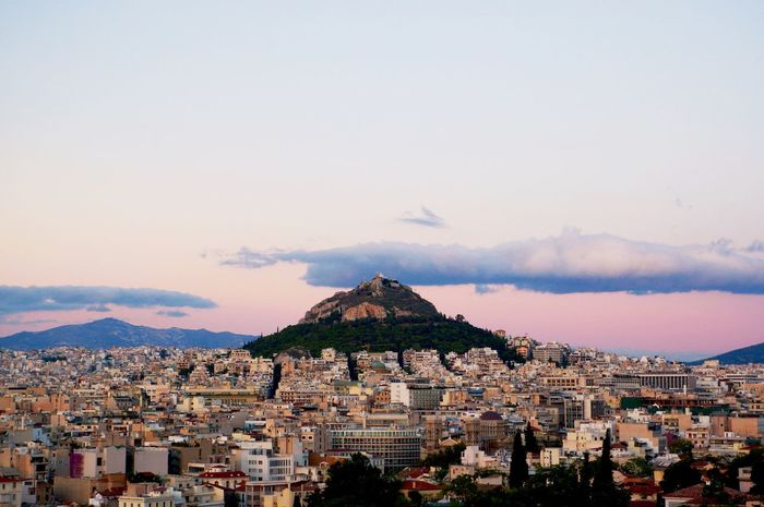 The cradle of civilization. Athens Scenery Cityscape Cityscapes Civilization Skyline Landscape City Landscape Hill Pentax Edited On IOS