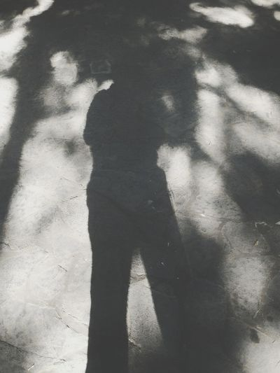 Shadow Focus On Shadow Sunlight Lifestyles Standing Human Body Part Men Adults Only Outdoors