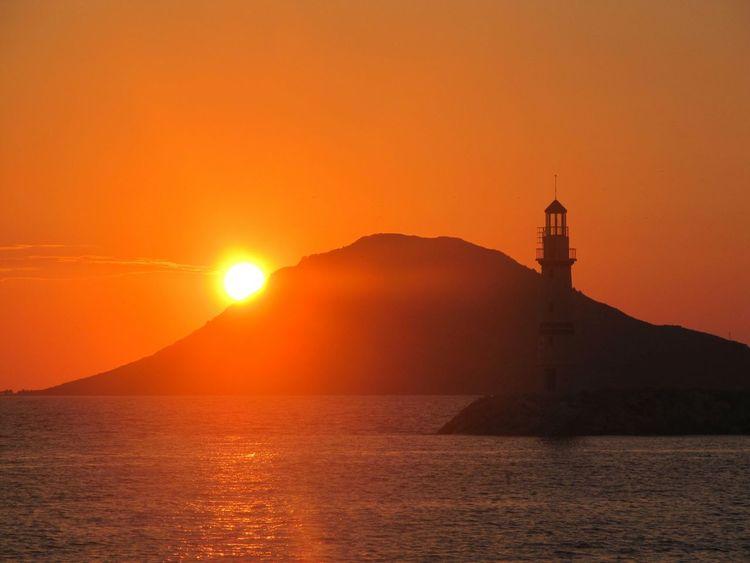 Bodrum Turgutreis  Sunset Natural Beauty EyeEM Photos Summer Holidays Sea And Sky