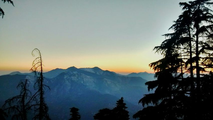 Mukteshwar Sunset_collection Snowcapped Himalayas Winters