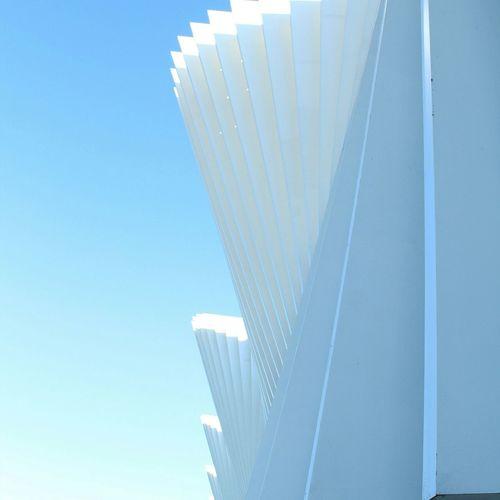 Architecture Reggioemilia Light Italy Geometric Shapes Calatrava Totalwhite Railwaystation Lines Geometric Architecture