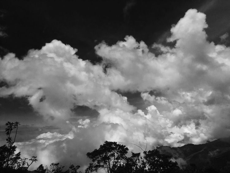 Colombia Clouds Clouds And Sky Black & White Blackandwhite