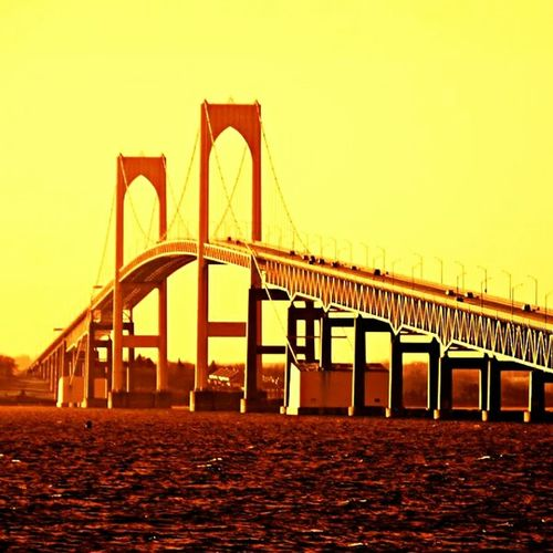 Paint The Town Yellow Bridge - Man Made Structure Suspension Bridge Built Structure Transportation Travel Destinations Sky Day City Outdoors