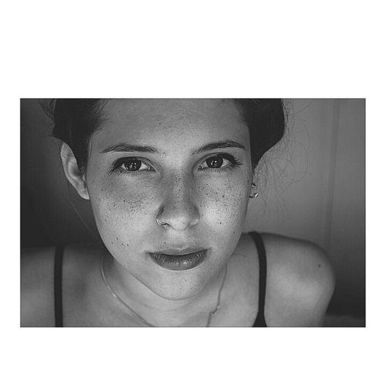 B&W Portrait Girl Model Photography luna