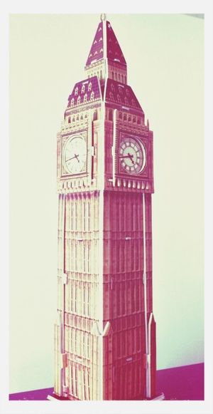 London Big Ben 3D Art Puzzle