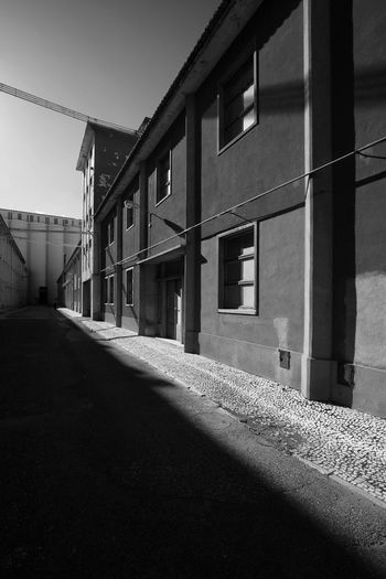 Architecture Beato Blackandwhite Built Structure Day Industrial Lisboa Portugal No People Outdoors Sky