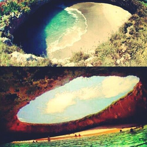 Underground Beach