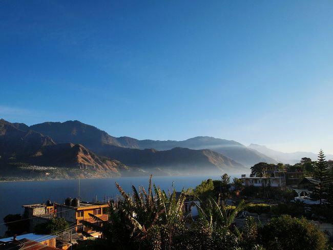 Atitlan Lake Lake Water Sky Landscape Guatemala Lost In The Landscape EyeEmNewHere