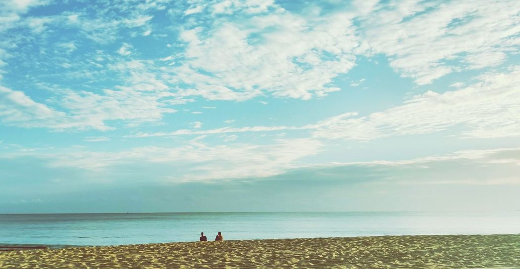 Horizonte Horizon Over Water Water Sky Cloud - Sky Beach Sea Nature Beauty In Nature Scenics Tourism Blue Sky Azul Céu Natureza IracemaBeach