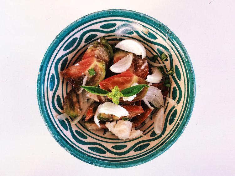 Salade Tomate Mozzarella Basilic