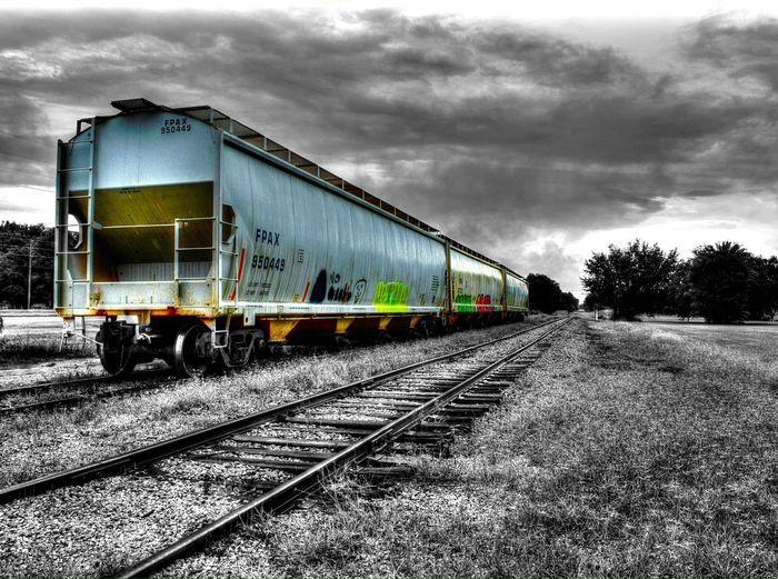 Color Splash Tadaa Community Train Taking Photos