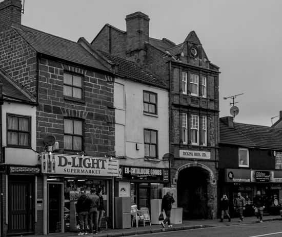 D-Light, Kettering Road, Northampton Monochrome Monochrome Photography FUJIFILM X-T2 Industrial Landscapes Northampton Black And White Kettering Road Urban Street